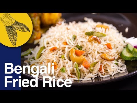 Vegetable Pulao Recipe | Bengali Vegetable Fried Rice–Biye Bari Style | Durga Pujo Special