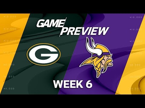 Green Bay Packers vs. Minnesota Vikings   Week 6 Game Preview   Move the Sticks