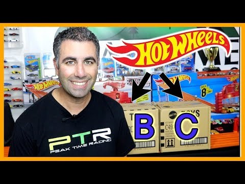 2019 Hot Wheels B & C Case Double Case Unboxing