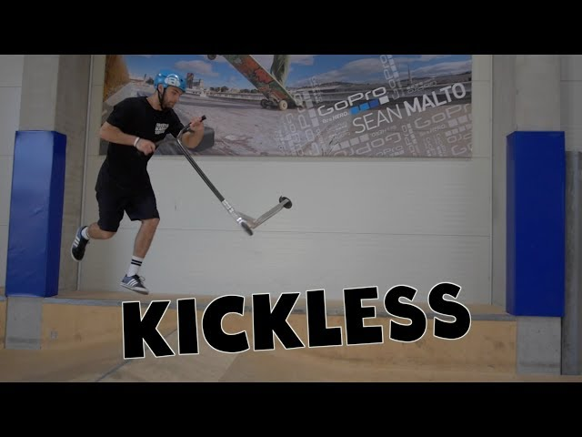 Scooter Tutorial - KICKLESS // Freestyle Academy Stuttgart