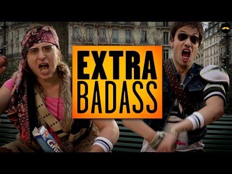 GOLDEN MOUSTACHE - BADASS - EXTRA BONUS