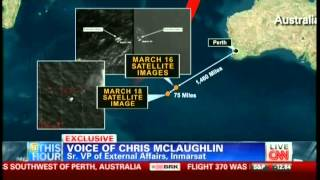 CNN phone interview with Chris McLaughlin of Inmarsat