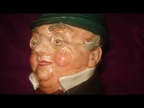 DEMO OF A COLLECTABLE MR PICKWICK ROYAL DOULTON CHARACTER JUG MADE IN ENGLAND AND WHAT IT IS WORTH