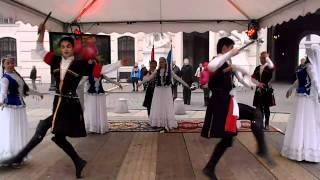Azerbaijan dance performance (Vienna, Austria)