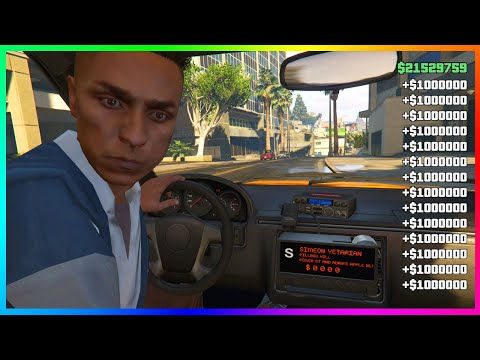 $1,000,000 Every 5Mins In GTA 5 Online Unlimited Money Glitch (PS4/XBOX/PC)