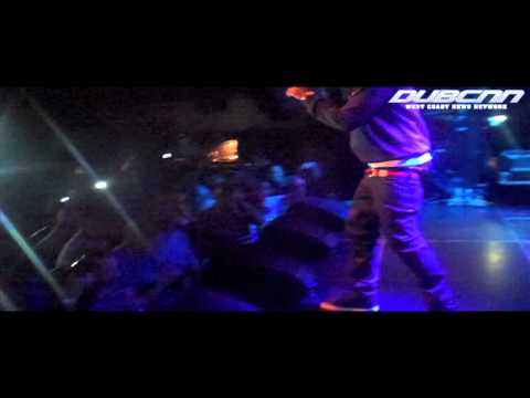 DubCNN & Nipsey Hussle Live From Amsterdam: Live Footage + Interview (April 2012)