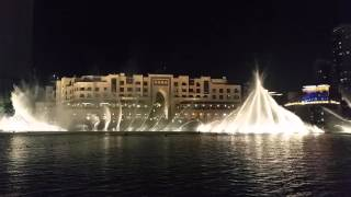 The Dubai Fountain 2016 - Elissa aa bali habibi HD