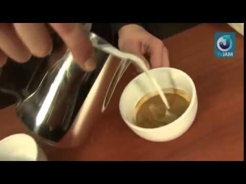 Как делать рисунки на капучино   лате арт