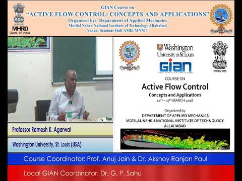 (Day 5, Session 1) Active Flow Control: Concepts and Applications