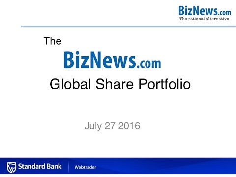 Biznews Global Share Portfolio July – normal service resumes