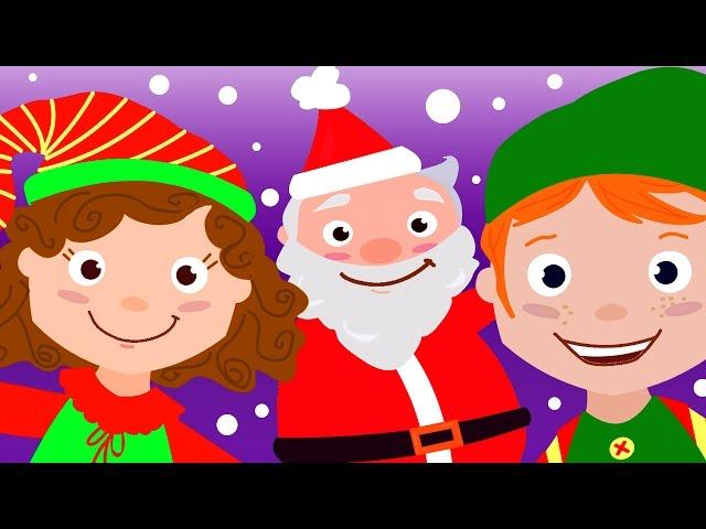 Finger Family Christmas Song for Kids!