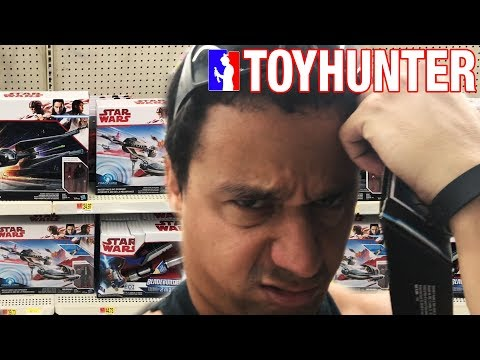 Toy Hunting for NECA Ralph still!!!! And checking out Episode 8 toys!