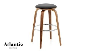 Ashley Wooden Stool