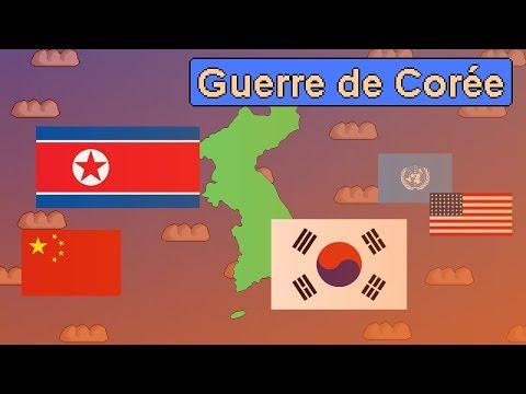 La Guerre de Corée et partition des Corées