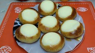 Ватрушки с творогом! Очень вкусные, воздушные булочки с начинкой☆Рецепт булочек!