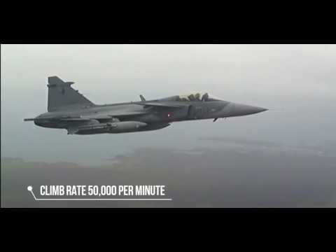 HOW POWERFUL IS SAAB JAS 39 C & D GRIPEN   JET FIGHTER SPECIFICATION