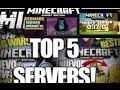 Top 5 servers para Minecraft pocket edition (1.0.0)oficial