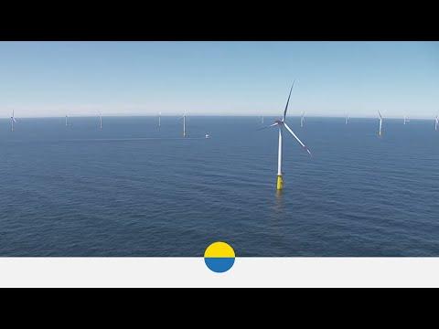 Eine Wohnplattform für den Offshore-Windpark DanTysk