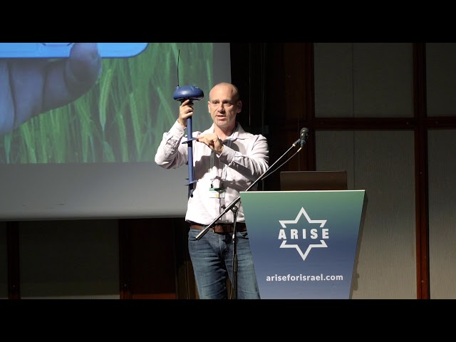 Tomer Tzach, CropX Keynote :: ARISE Summit 2018