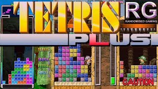 Tetris Plus - Sega Saturn - Intro & gameplay from endless, puzzle and edit modes [HD 2K]