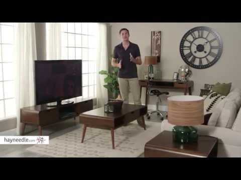Belham Living Carter Mid Century Modern Coffee Table - Product Review Video