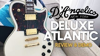 Gambar cover D'Angelico Deluxe Atlantic Guitar [Demo & Review]