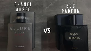 Bleu De Chanel Parfum vs Chanel Allure Homme Sports Eau Extreme | Best Chanel Fragrances Unboxing