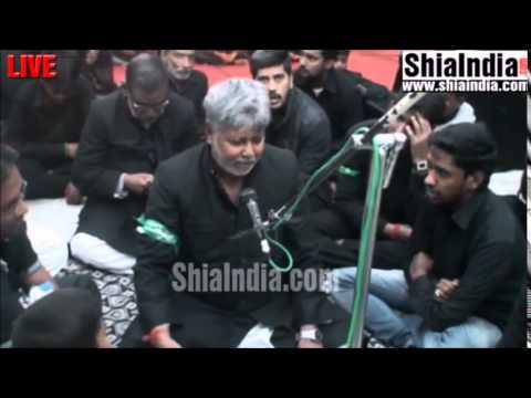 Aye momino hussain (as) per shiddat ki pyas hai marsiya by qaiser bhai