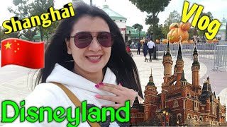 VLOG: SHANGHAI DISNEYLAND | Disney Characters Parade
