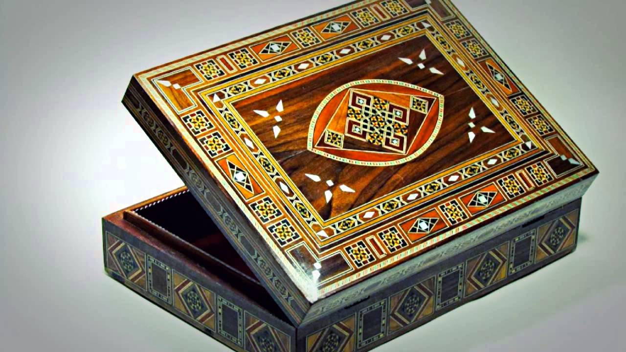 Mosaic Jewelry boxes Priceless Hands YouTube