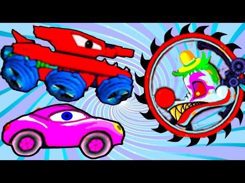 Машина Ест Машину - Хищные Машины - ИГРА как мультик Для детей - 2 часть - Серия 5#