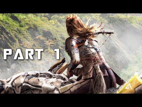 HORIZON ZERO DAWN THE FROZEN WILDS Walkthrough Gameplay Part 1 - Intro (PS4 Pro) thumbnail