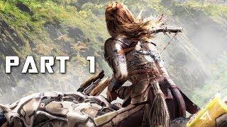 HORIZON ZERO DAWN THE FROZEN WILDS Walkthrough Gameplay Part 1 - Intro (PS4 Pro)