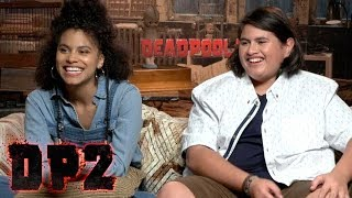 'Deadpool 2': Zazie Beetz and Julian Dennison (Full Interview)
