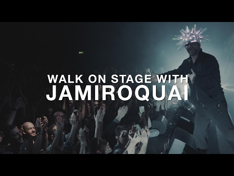 Walk on stage with Jamiroquai in Paris