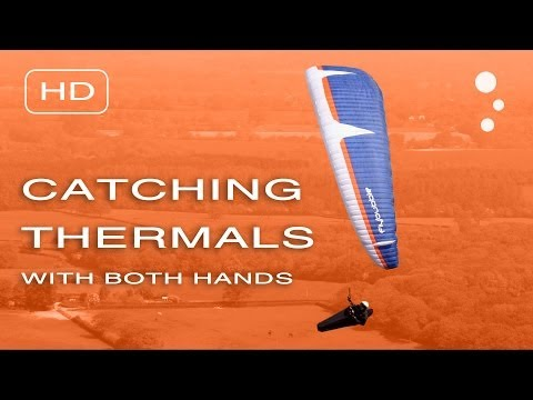 Paraglider Control: Catching Thermals With Both Hands