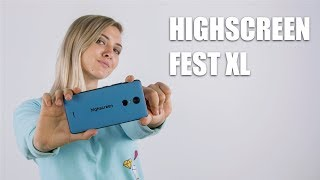 Обзор Highscreen Fest XL