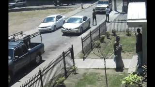 Video shows shootout in Cleveland