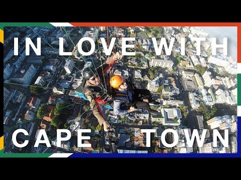 PARAGLIDING IN CAPE TOWN #travelvlog