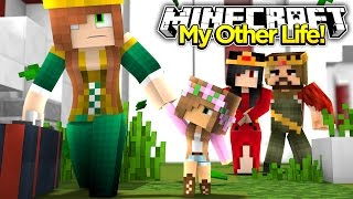 My Other Life #10-MOM AND BABY KELLY MOVE OUT OF THE KINGDOM (Minecraft Roleplay)