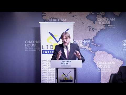 Guy Verhofstadt at Chatham House 30 January 2017
