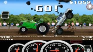 Tractor pull game #1 screenshot 2