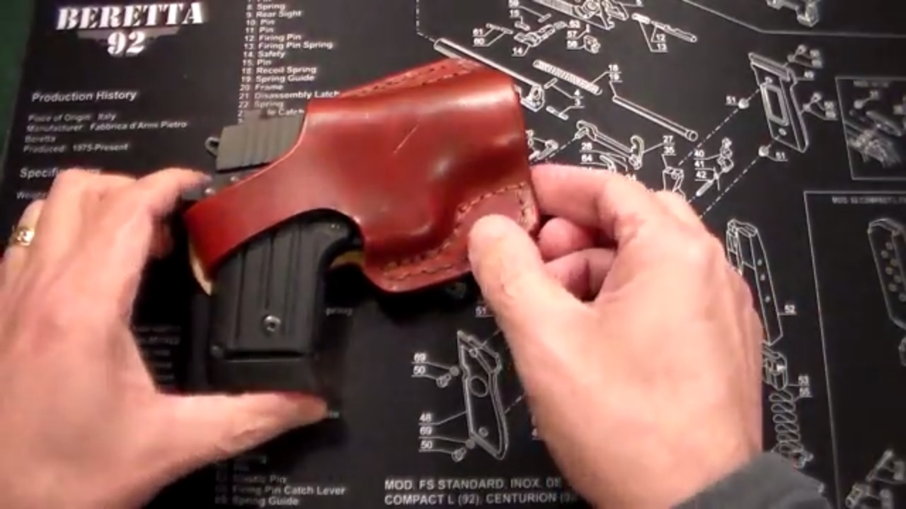 Sig Sauer P238 Leather Holster