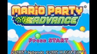 Mario Party Advance (GBA) - Shroom City Longplay