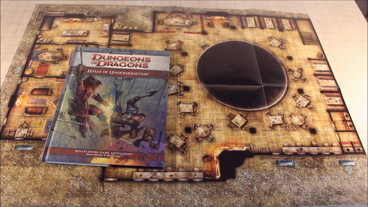 D&D: Yawning Portal & Undermountain Maps
