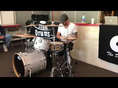 Jamie Wollam - Head Over Heels - Stebal Drums - 5/20/17