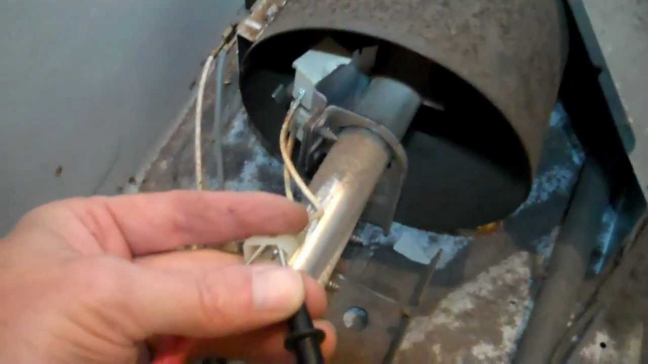 Troubleshooting The Gas Burner In A Whirlpool Kenmore Dryer Diagram Further Oven Built On Parts Youtube