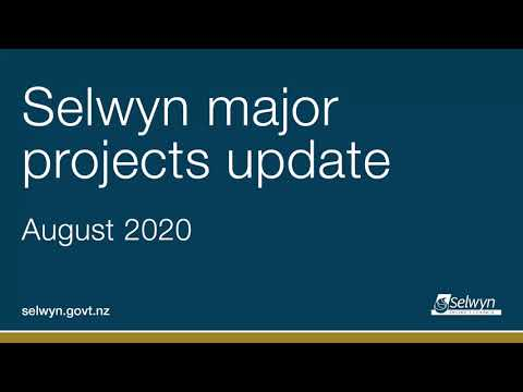 Selwyn major projects update
