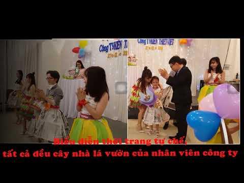 Tiệc tất niên cuối năm công ty Kiến Thiết Việt