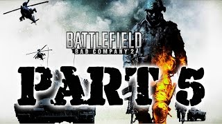 Battlefield Bad Company 2 playthrough no commentary 60fps part 5 Crack The Sky